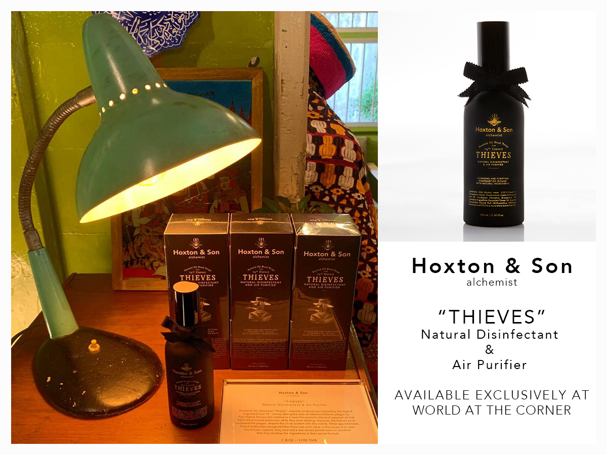 Hoxton & Son alchemist X World At The Corner