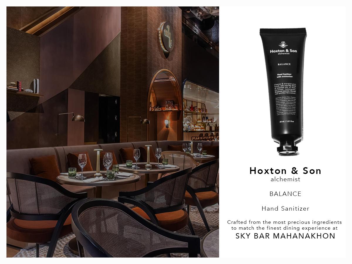 Hoxton & Son alchemist X Sky Bar Mahanakhon