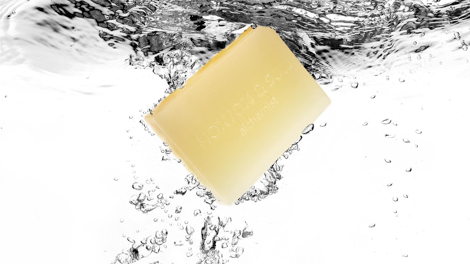 SAINT (Atlas cedar/Mastic thyme/grapefruit) Soap Bar